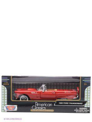 Автомобиль 1к24 1956 Ford Thunderbird Motormax. Цвет: красный