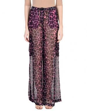 Повседневные брюки ROCCOBAROCCO JEANS. Цвет: светло-фиолетовый