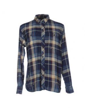Pубашка RUDERIDERS. Цвет: синий