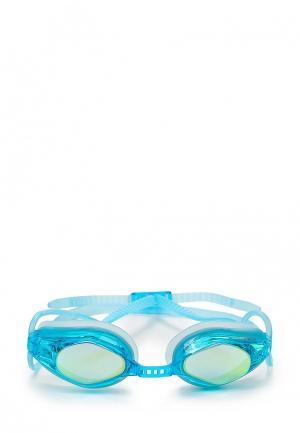 Очки для плавания MadWave. Цвет: бирюзовый