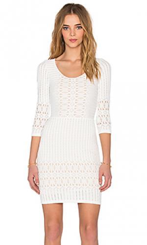 Платье Nightcap. Цвет: белый