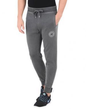 Повседневные брюки CONVERSE ALL STAR. Цвет: серый