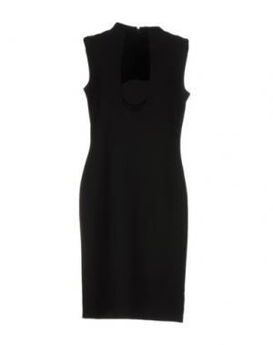 Платье до колена RAOUL. Цвет: черный