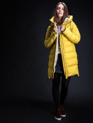 Куртка Clasna. Цвет: желтый