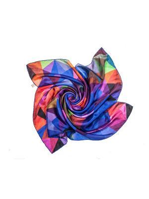 Платок Frija. Цвет: красный, фиолетовый, бордовый, розовый, салатовый, сливовый, темно-синий