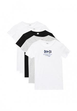 Комплект футболок 5 шт. Blukids. Цвет: разноцветный