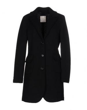Пальто ADHOC. Цвет: темно-зеленый