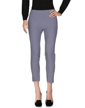 Повседневные брюки GIANLUCA CAPANNOLO. Цвет: серый