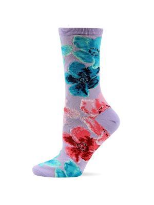 Носки HOT SOX. Цвет: сиреневый