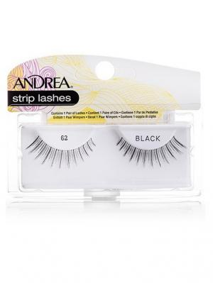 Andrea 26210 Mod Strip Lashes 62 Накладные ресницы Andrea.. Цвет: черный