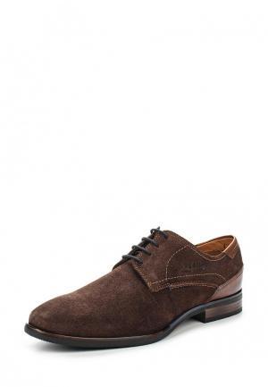 Туфли Bugatti. Цвет: коричневый