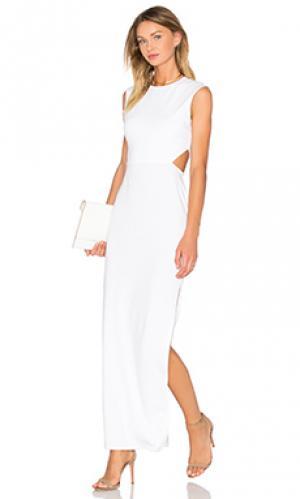 Платье twenty. Цвет: белый