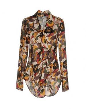 Блузка ANGELA MELE MILANO. Цвет: темно-зеленый