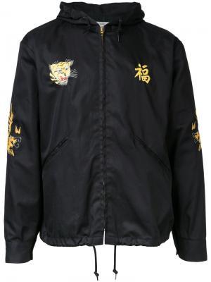 Куртка Vietnam с капюшоном Gold / Toyo Enterprise. Цвет: чёрный