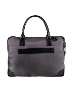 Деловые сумки ROYAL REPUBLIQ. Цвет: серый