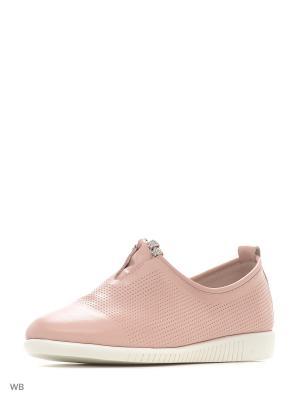 Туфли BERKONTY. Цвет: розовый