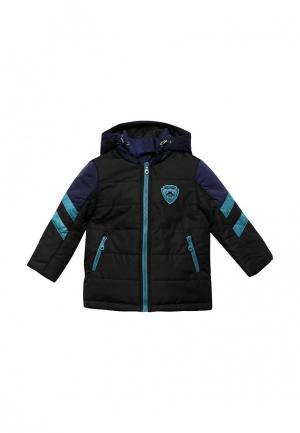 Куртка утепленная Fleur de Vie. Цвет: черный