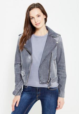 Куртка джинсовая Diesel. Цвет: серый