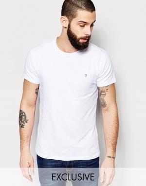 Farah Эластичная футболка эксклюзивно для. Цвет: белый