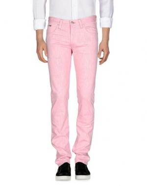 Джинсовые брюки ARMANI COLLEZIONI. Цвет: розовый