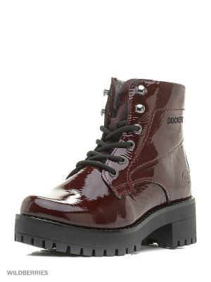 Ботинки DOCKERS. 26078/бордо