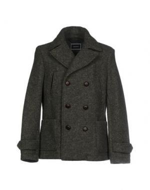 Пальто QUINTESSENCE. Цвет: зеленый