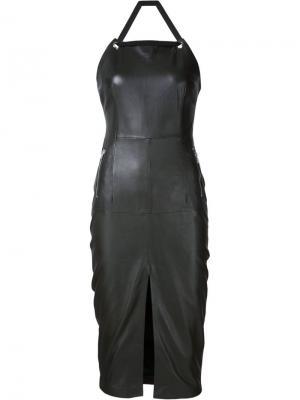 Платье Pelle Rebecca Vallance. Цвет: зелёный