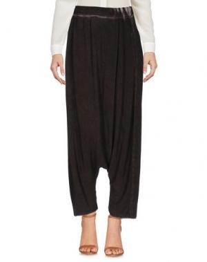 Повседневные брюки UN-NAMABLE. Цвет: темно-коричневый