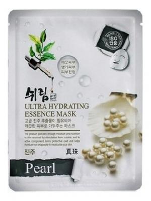 Комплект увлажняющих масок с натуральным экстрактом жемчуга, 25 мл.*3 шт. Shelim. Цвет: белый