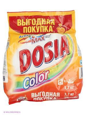 Dosia COLOR Средство моющее синтетическое порошкообразное 3,7 кг  Выгодная покупка. Цвет: оранжевый