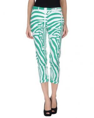 Повседневные брюки 28.5. Цвет: зеленый