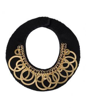 Ожерелье NUR. Цвет: черный