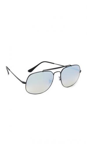 Солнцезащитные очки-авиаторы General с зеркальными линзами Ray-Ban