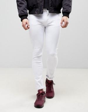 Loyalty & Faith Белые зауженные джинсы and Beattie. Цвет: белый
