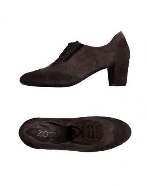 Обувь на шнурках ZOCAL. Цвет: серый