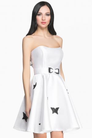 Платье с поясом 145906 Msw Atelier