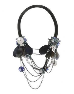 Ожерелье EMAMÒ. Цвет: стальной серый