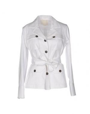 Куртка TROU AUX BICHES. Цвет: белый