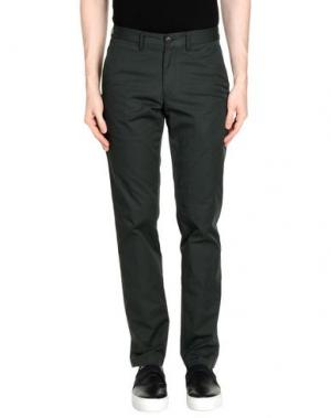 Повседневные брюки CLUB MONACO. Цвет: темно-зеленый
