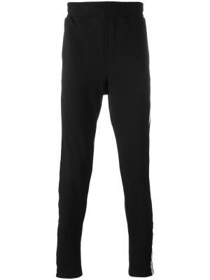 Side stripe sweatpants D.Gnak. Цвет: чёрный