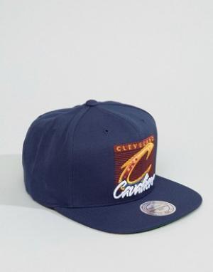 Mitchell & Ness Бейсболка Cleveland Cavaliers. Цвет: темно-синий