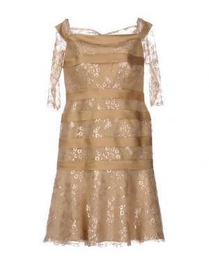 Короткое платье CAILAN'D. Цвет: песочный
