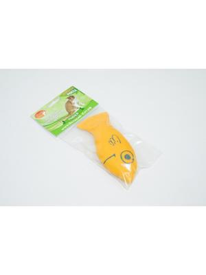 Рыбка 12 см SMART-TEXTILE. Цвет: желтый