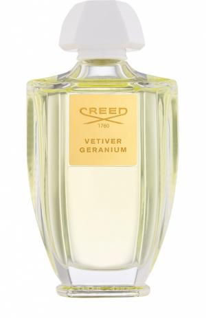 Туалетная вода Vetiver Geranium Creed. Цвет: бесцветный