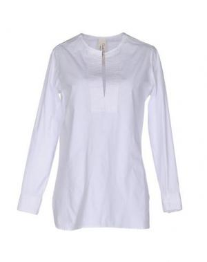 Блузка DANIELA PANCHERI. Цвет: белый