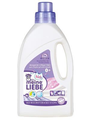 Жидкое средство для стирки детских вещей, 800мл MEINE LIEBE. Цвет: прозрачный