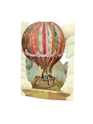 Объемная открытка  Воздушный шар Даринчи. Цвет: красный