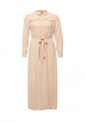 Платье Ad Lib. Цвет: бежевый