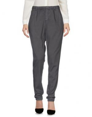 Повседневные брюки SET. Цвет: свинцово-серый