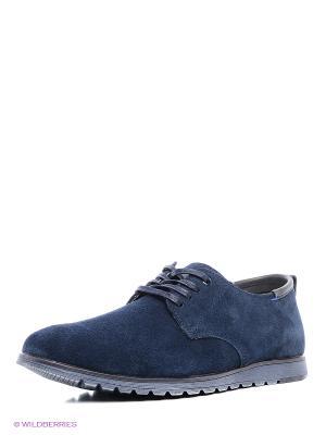 Ботинки Tesoro. Цвет: темно-синий